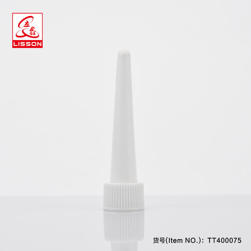 150ml Empty Airless Machine Oil Container Long Nozzle Cosmetic Plastic Tube Packaging With Long Nozzle Screw Cap