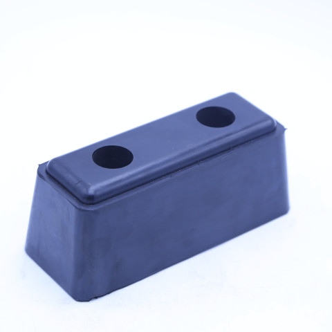 high quality Rubber bumper block with steel plate