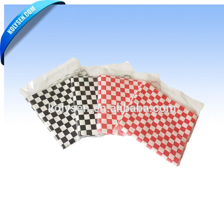 Waxed Paper for Sandwiches/burgers Wood Pulp Coated Greaseproof Gravure Printing Virgin Chemical Pulp Single Side Accept
