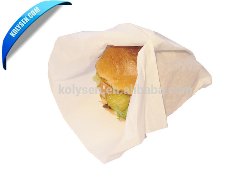 Customized Burger packaging paper