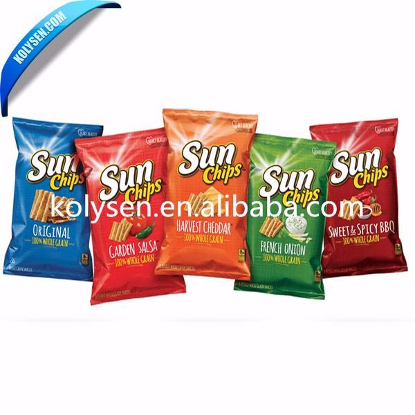 Customized spicy chips packing bag