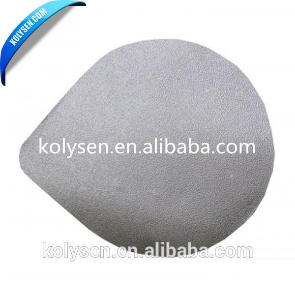 Custom disposable aluminum foil lids for coffee capsule covering nespresso cup