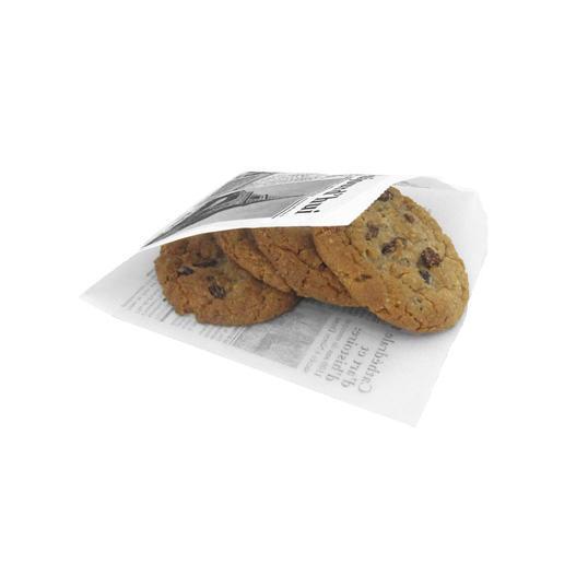 Hotsale Newspaper greaseproof Food Paper Pocket