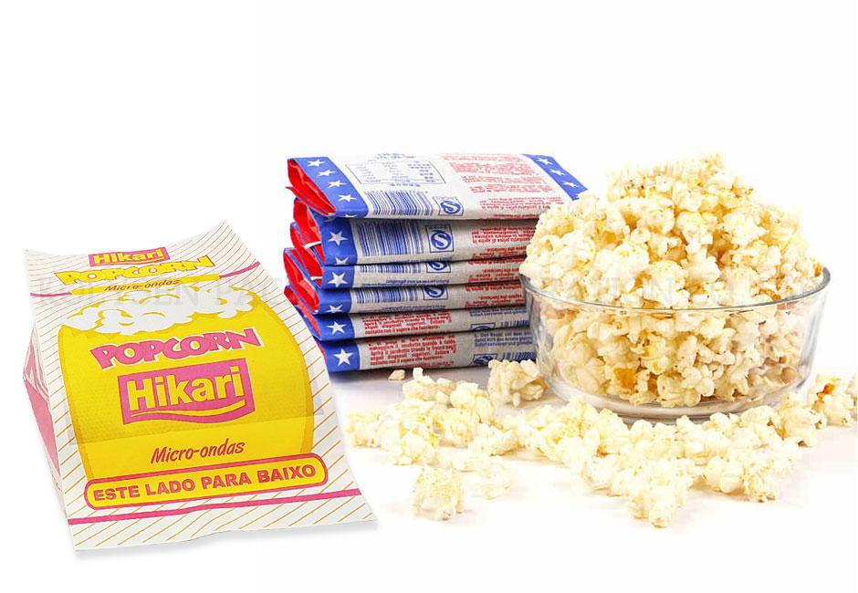 Customized food grade microwave popcorn paper bag corn for popcorn