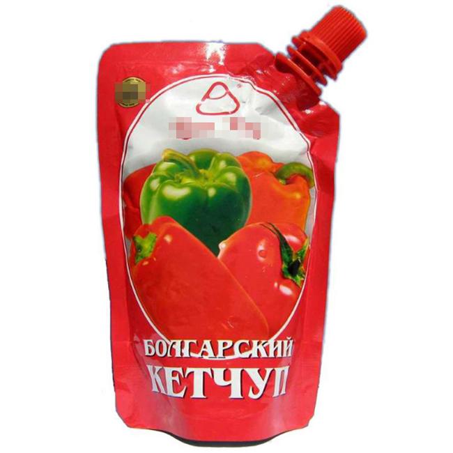Food Gradefruit jam spout pouch