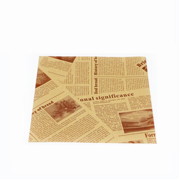 kolysen greaseproof Paper for food Custom printed Custom Colored Packaging Design Custom Wrap