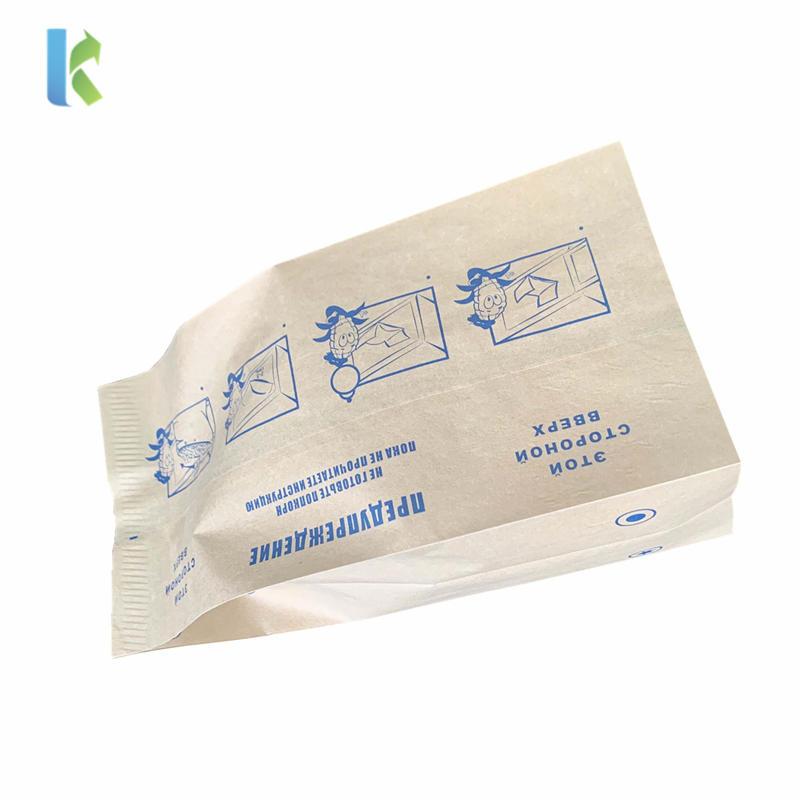 Greaseproof Design Sealable Bulk Wholesale New Large Logo PrintedMicrowave Custom Popcorn Bag