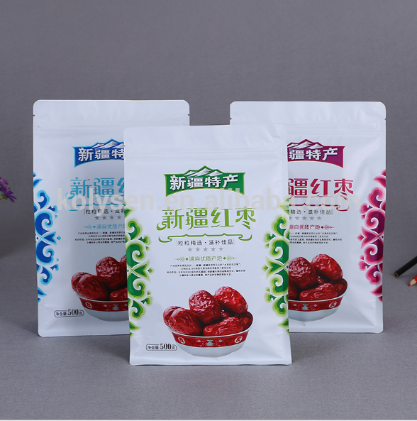 High quality custom plastic bag ziplock made in china