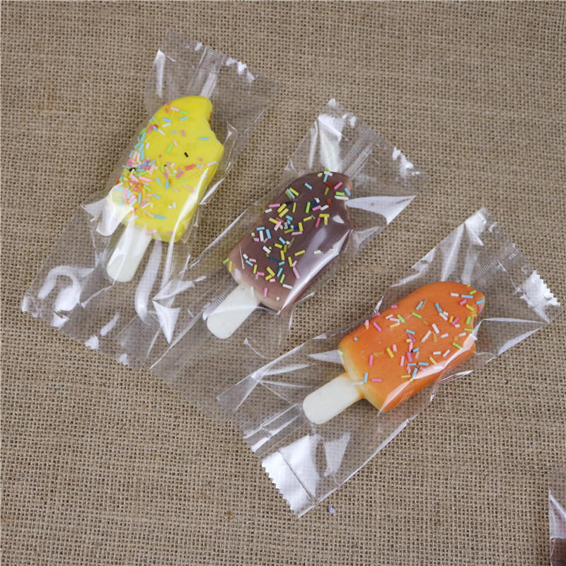 Transparent Ice popsicle packaging bags