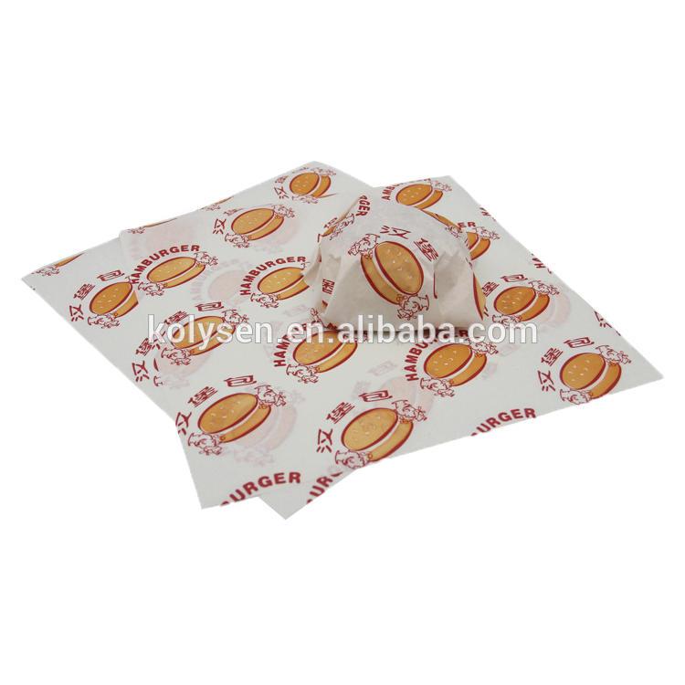 kolysen greaseproof paper for food Custom printed
