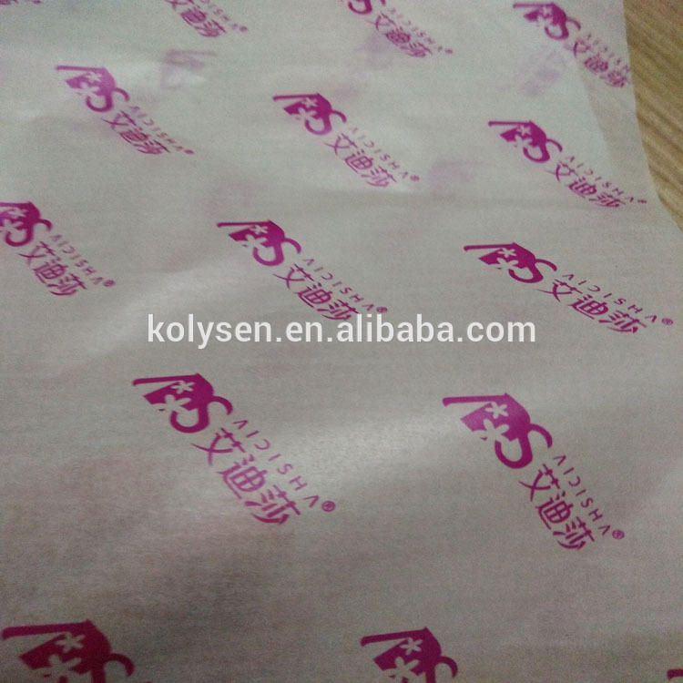 Colourful Food Grade Decorative Wax Paper Wood Pulp Coated Greaseproof Gravure Printing Virgin Chemical Pulp Single Side Accept