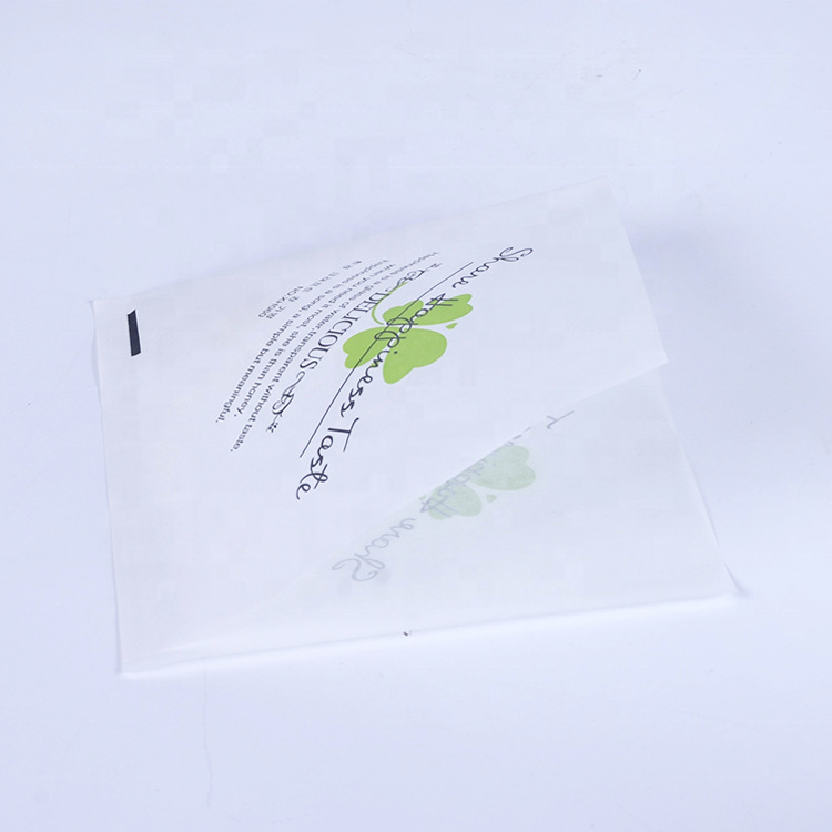 Waterproof and greaseproof food triangle paper bag with custom logo