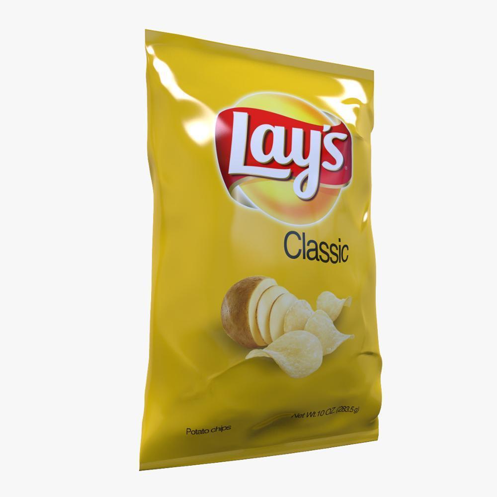 Manufacturer custom potato chips bag
