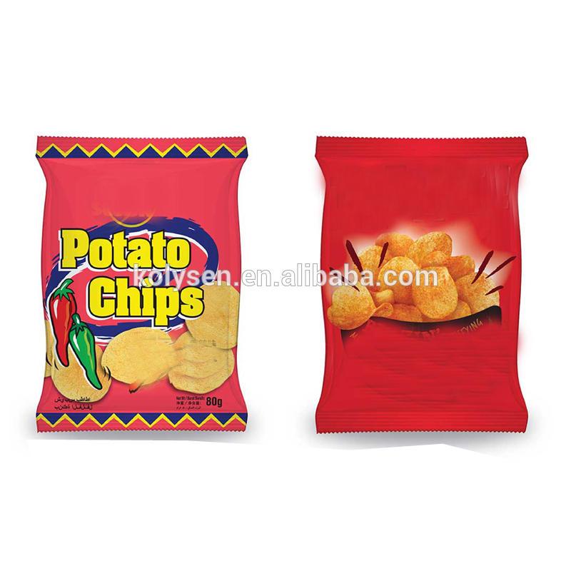 Food Packaging Bag Custom Plastic PE Snack Heat Seal Gravure Printing Shrink Bag Moisture Proof Accept