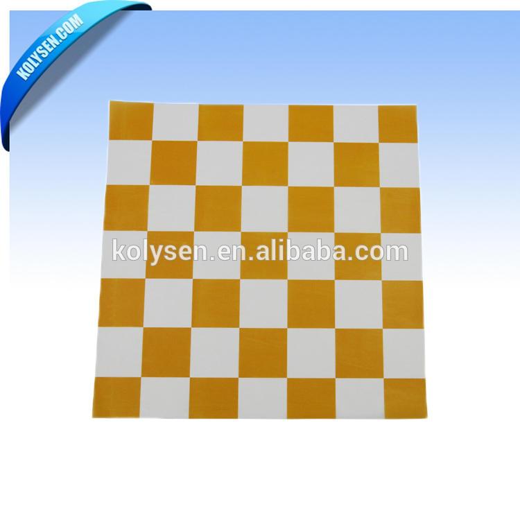 Orange checker breakfast taco wrap paper