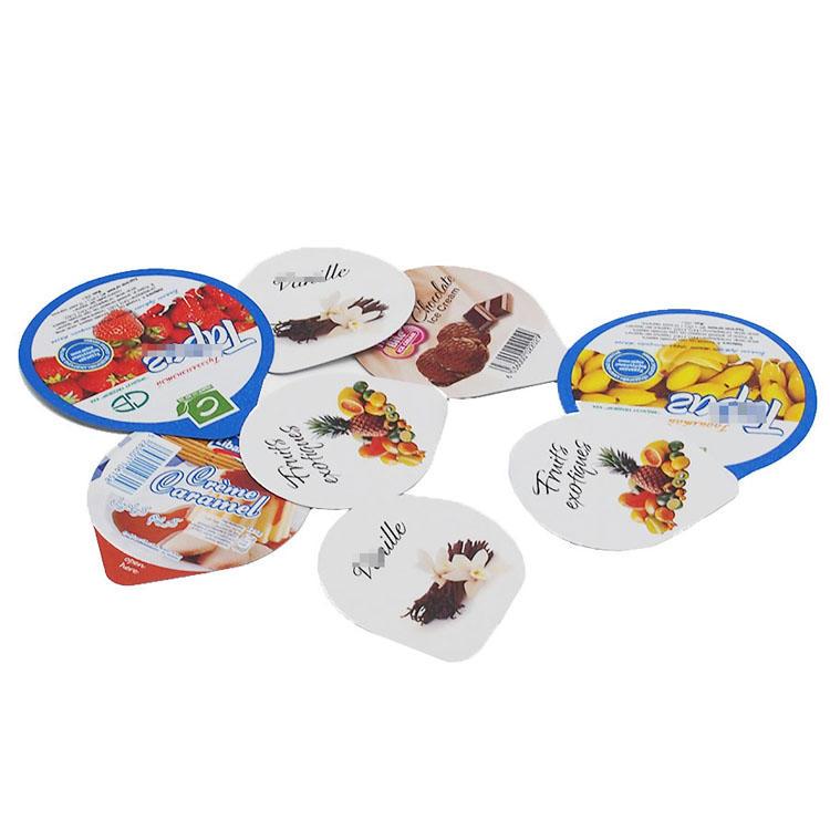 Material compuesto y aceptar las tapas de papel de aluminio de pedido personalizado para yogur