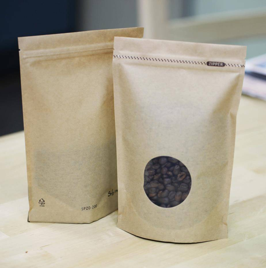 wholesale side gusset coffee packaging bag with tin tie and one way degassing valve