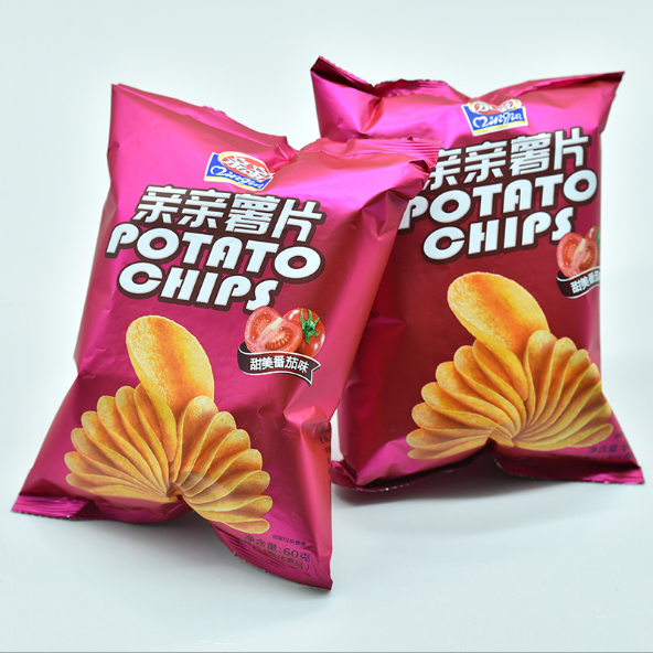 factory delivery laminated plastic potato chips bags for french fries