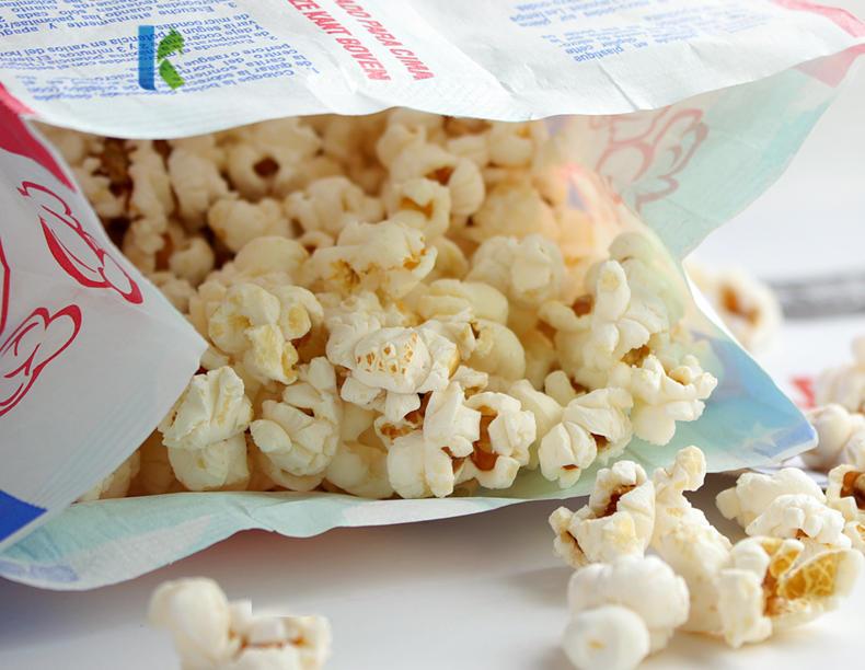 Sealable Popcorn Factory Kraft Bolso Microondas Para CornWholesale Logo Bags With Own Design