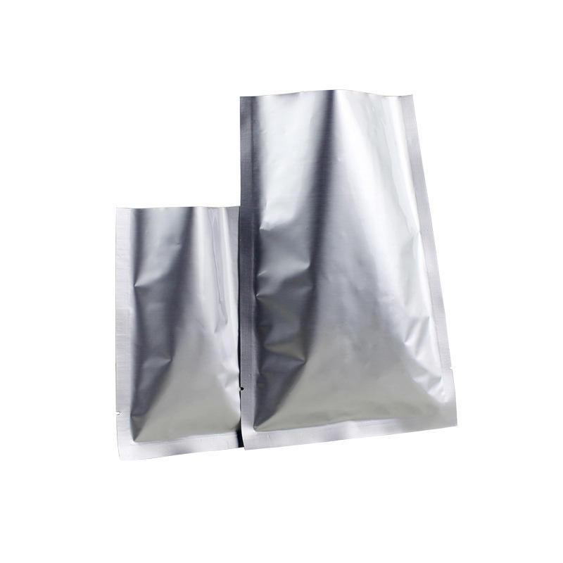 3 side seal Aluminum foil bag with clear window