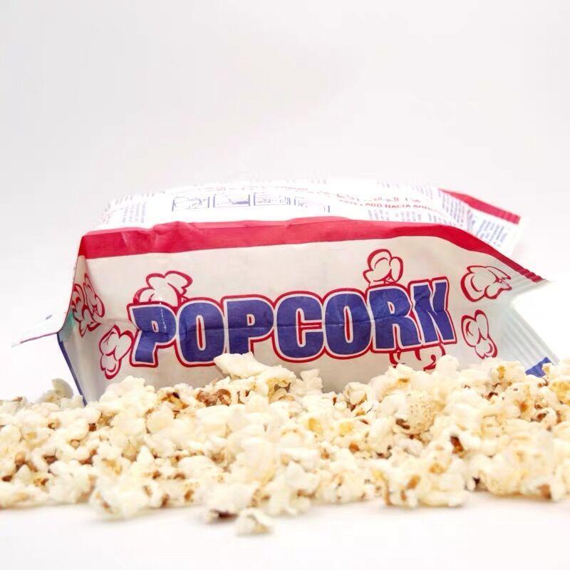 Design Large Sealable Bulk Logo PrintedWholesale New Greaseproof Microwave Custom Popcorn Bag