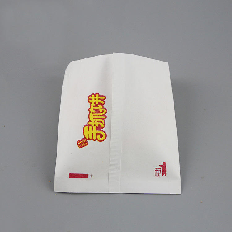 Greaseproof paper bag for fried chicken, burger, sandwich wrapper wax paper