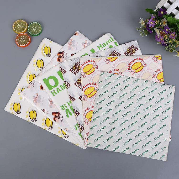 Kolysen Hot Sale Customized Greaseproof Paper for Food Packaging