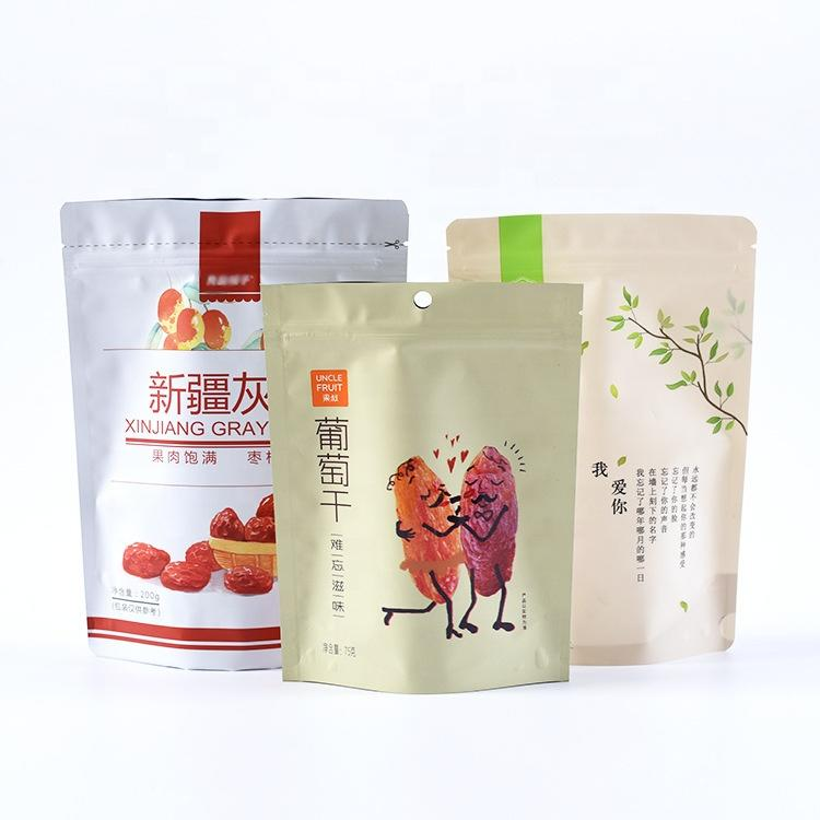KOLYSENOEM Service Resealable food grade stand up pouch Spice packaging bag Manufacturer in china