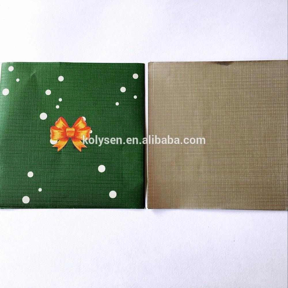 Elegant Confectionery Chocolate Lolly Foil wrapper squares