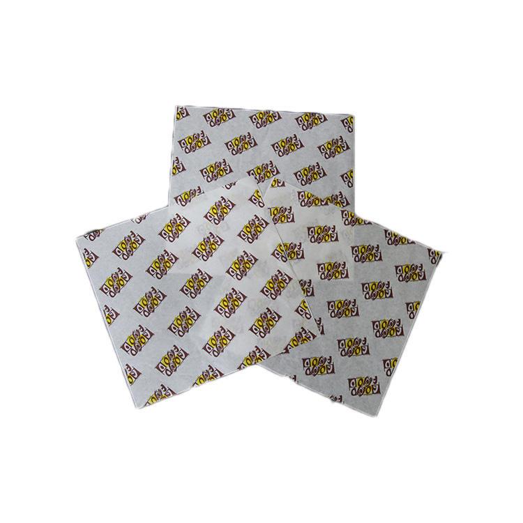 Fast food wrap foil proof paper