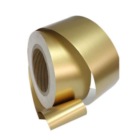 gold cigar rolling aluminum foil paper for filter