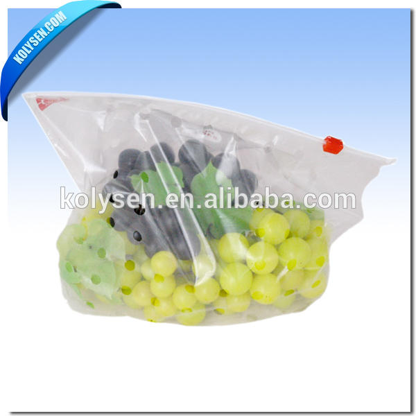 China factory custom plastic printing fruit packing for grape protection