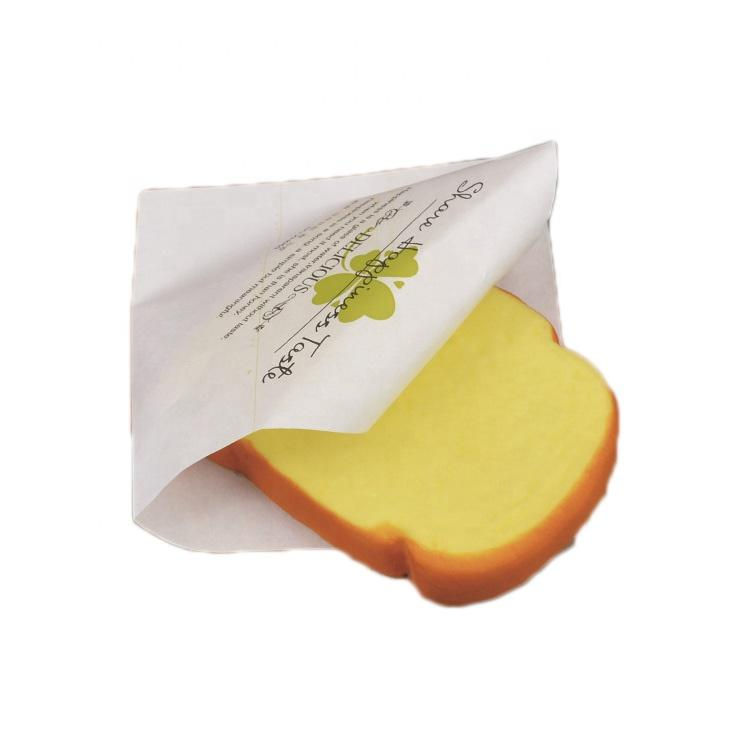KOLYSENCustom printed food grade Greaseproof Paper pockets For Burger Wrapping made in china