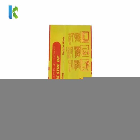 Bulk Large Logo Paper Microwave Custom Greaseproof Wholesale Sealable Printed New Design Craft Paper Popcorn Bag