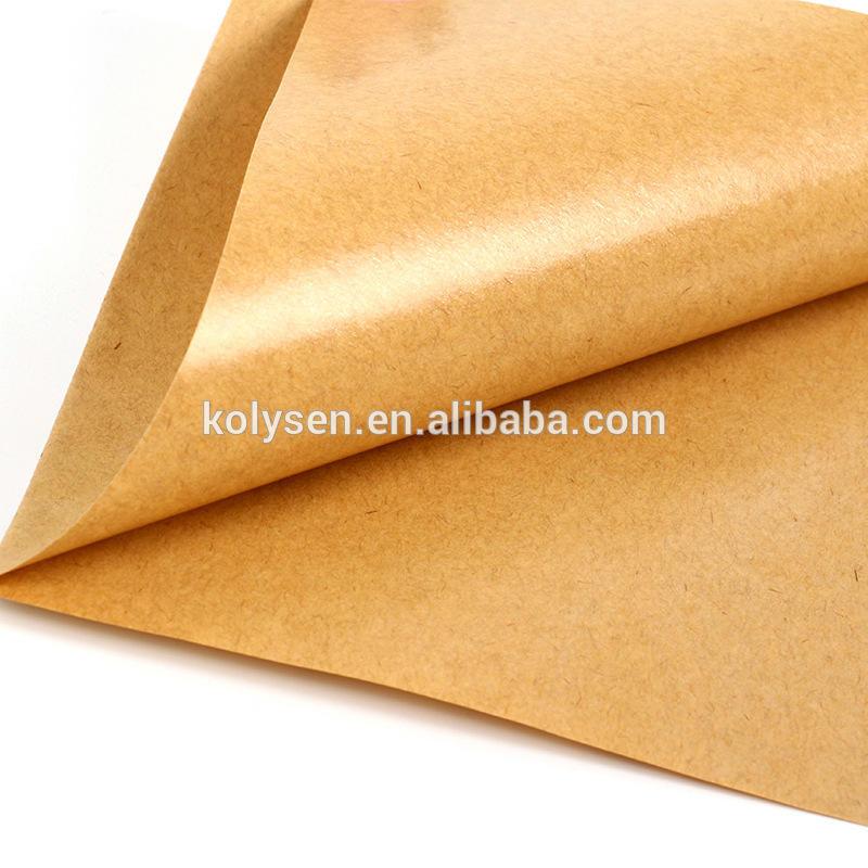 Oil proof brown kraft paper burger pocket