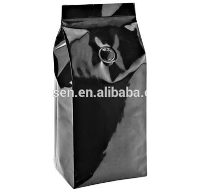 Custom printed food gradehigh qualitycoffee bag with round valvechina manufacturer