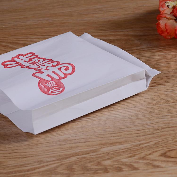 Custom logo printed paninis wrap greaseproof paper bags