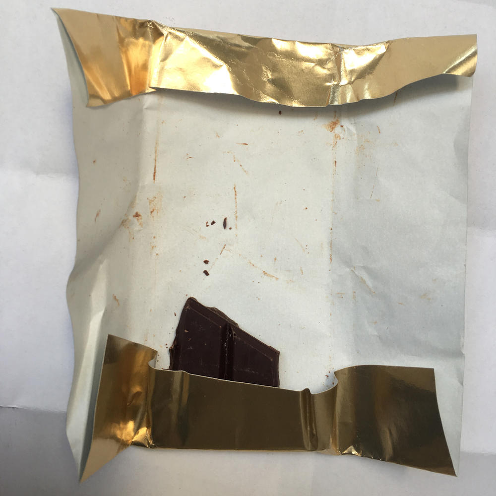 Chocolate inner foil wrappers