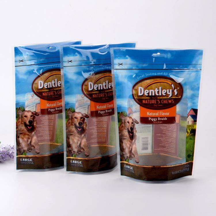 Laminated material Snack Packaging Bag, PET Snack Food Packaging Bag