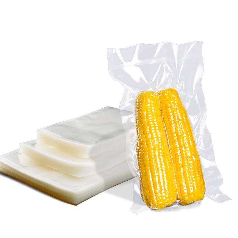 wholesale moisture proof plastic transparent packaging vacuum bag for food