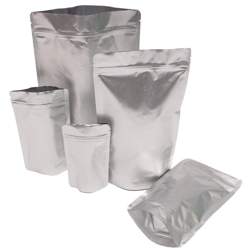 Food grade zipper stand up foil bag for cookies/coffee/chocolate/chips packing