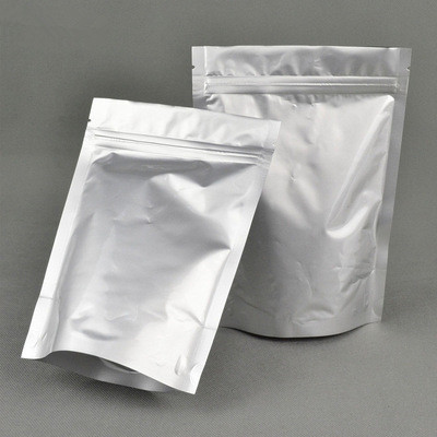 silver color aluminum foil pouch for coffee bean,tea packaging
