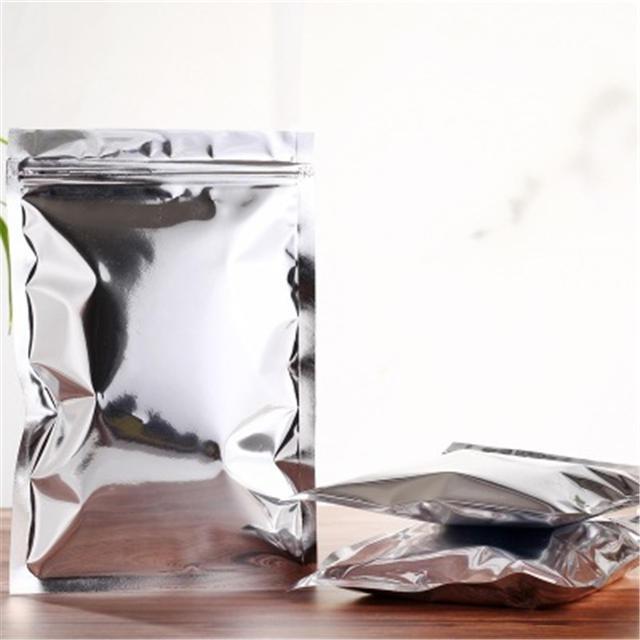 kolysen custom printed silver grip seal mylar bags
