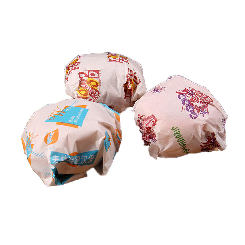 Hot burger shawarma bread wrapping paper