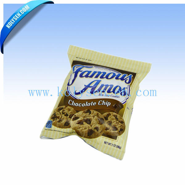 Customized Plastic Flat Bag/Cookie Pouch Bag