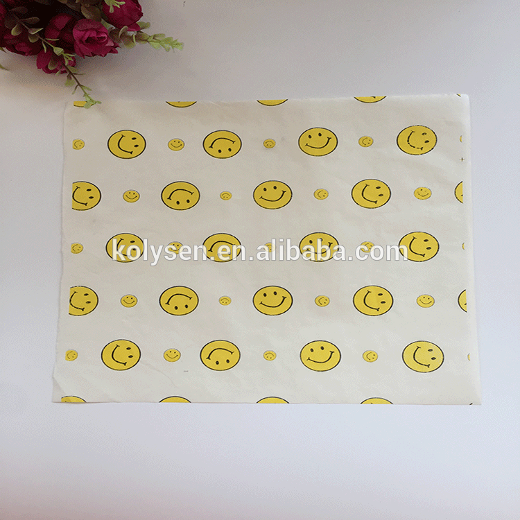 PE back side coated burger wrapping paper
