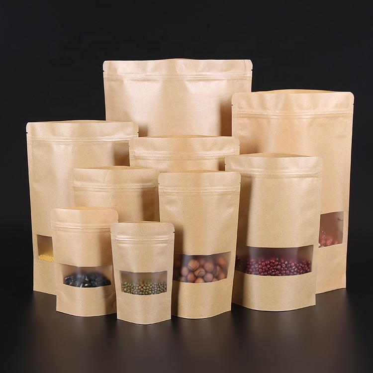 Matte printed kraft paper laminated coffee bean Pouch/Bag