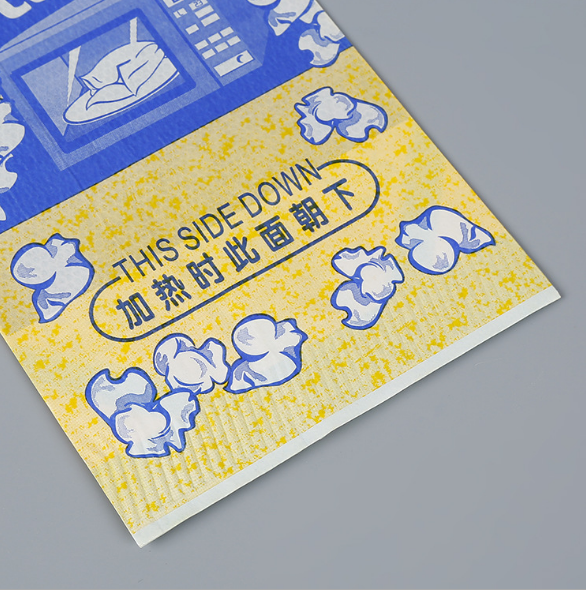 Bulk New Wholesale Logo Craft Factory Sealable Kraft Corn SealableBolso Large Custom Print Popcorn Bags