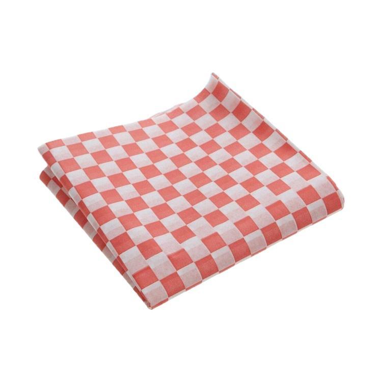 Custom printed waxpaper sandwich bag for food