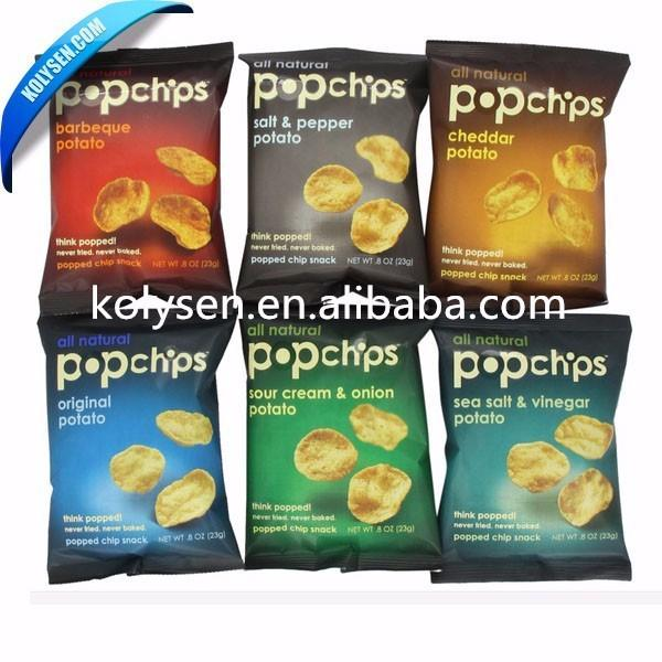 Plastic Side Gusset Biscuit/Confectionery/Candy/Snack Packaging Pouch Bag with Side Gusset
